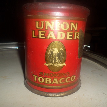 old tobacco can - Tobacciana