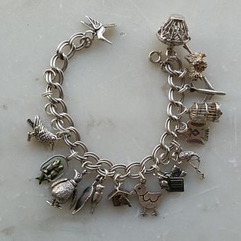 Bird charm bracelet - Fine Jewelry