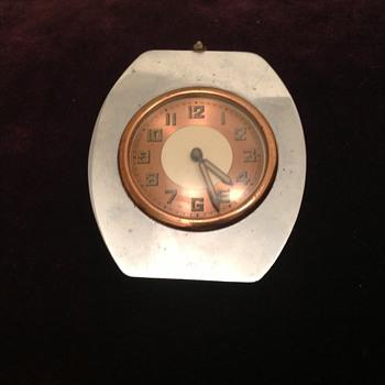 Antique French Art Deco French car? clock ca. 20's-30's. - Clocks