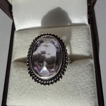 My mother's silver ring - Fine Jewelry
