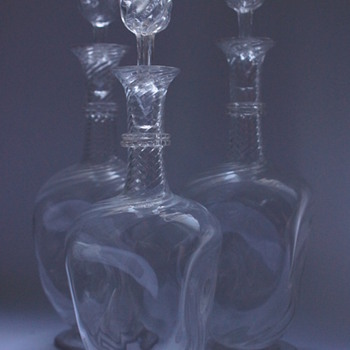 Whitefriars Decanters