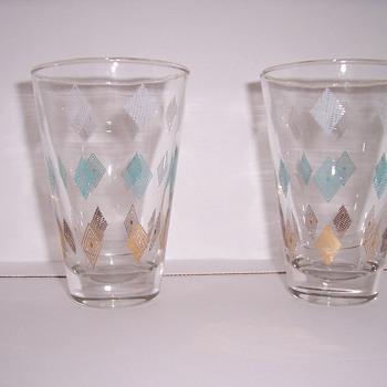 diamond pattern glassware - Glassware