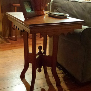 End tables gifted from Mother in Law