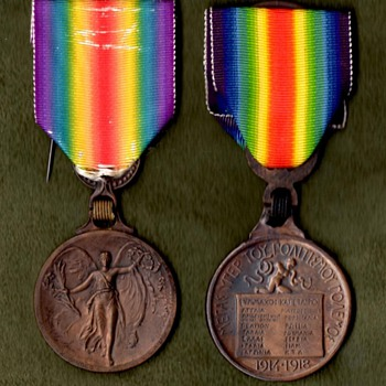The WWI Victory Medal Series – Greece - Military and Wartime