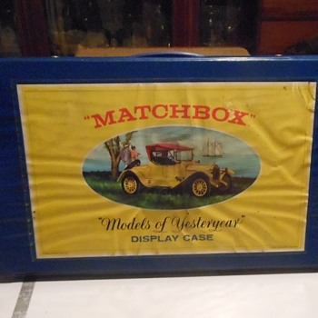 Not so Modern Matchbox Monday Models of Yesteryear Display/Carrying Case  - Model Cars