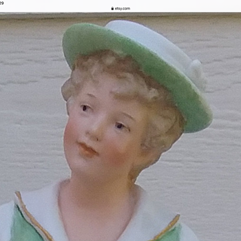New figurine of girl doing a little jig that I purchased. It looks rather Heubach to me, but is it? - Figurines