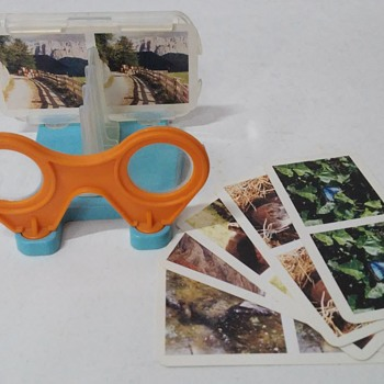 Kinder Maxi Surprise 3D Stereoscope - Toys