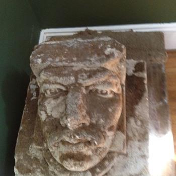 Stone Knight Head
