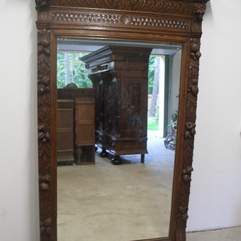 Old mirror - Furniture