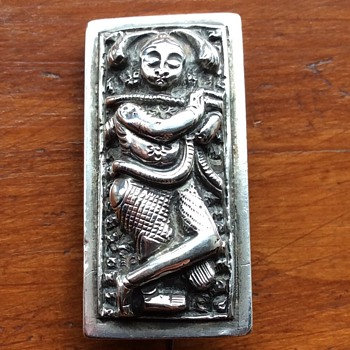 Silver Warrior brooch ? - Silver