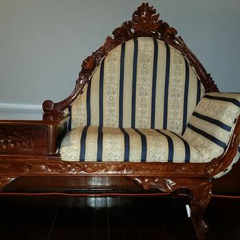 Vintage gossip bench - Furniture