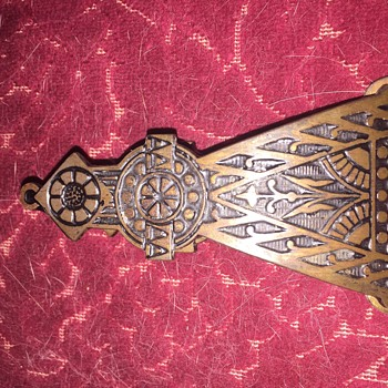 Ornate spring clip of some kind - Office