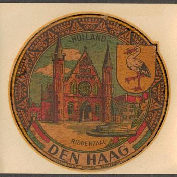 Travel Decal - Ridderzaal / Den Haag / Holland - Advertising