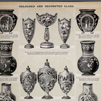 UK Victorian decorative objects catalog and how much they can be useful: Silber & Fleming 1898 Trade Journal, 368 pages - Art Glass