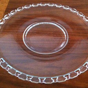 Cake plate ??? - Glassware