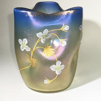 Loetz Luna Bakalowits Glass Vase C1900 - Art Glass
