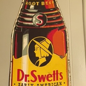 Some favorite signs of mine: Dr. Swetts, Flying A Gas, Puroxia and Sunbeam Bread - Advertising