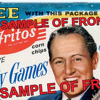 Frito Lay Corn Chip Pamphlet - Advertising