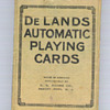 De Lands Automatic Playing Cards