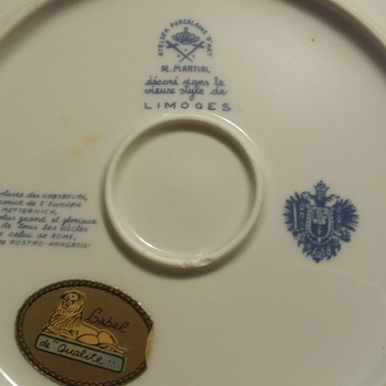 Does anyone recognize this limoges mark? - China and Dinnerware