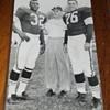 Original photograph Jim Brown Paul Brown Lou Groza