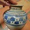 Unknown VERY old Cobalt Vase/Jar
