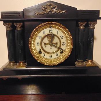 ANSONIA OPEN ESCAPEMENT - Clocks