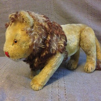 "Steiff "" PAPA LION"""