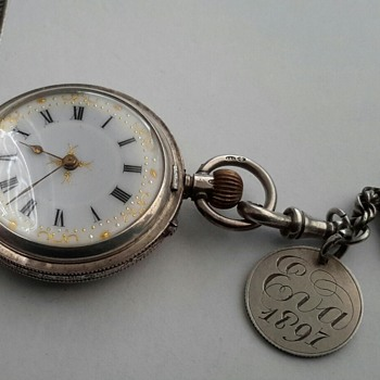 "1838 Four Pence Coin ""Love Token"" - Pocket Watches"