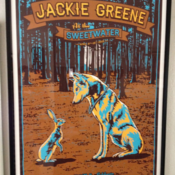 Jackie Greene screen print by Derek Johnson - Posters and Prints
