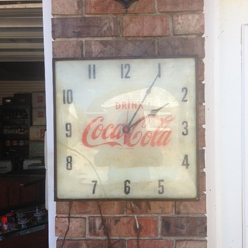 $3 Coca Cola Clock  - Coca-Cola