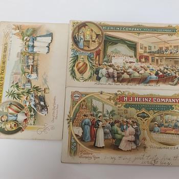 Postcards, H.J HEINZ COMPANY  - Advertising