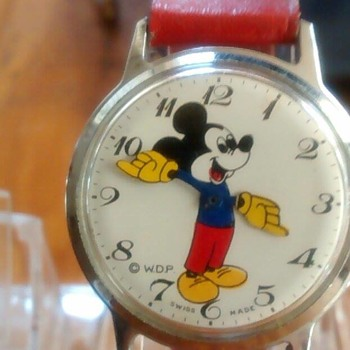 """Topolino"" Series Character Watches - Wristwatches"