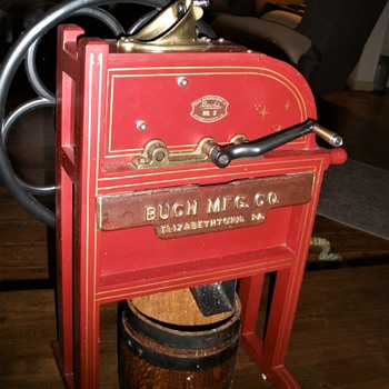"""half scale model """"Buch"""" corn sheller - Tools and Hardware"""