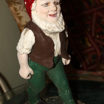 Old Walking Gnome - Pottery