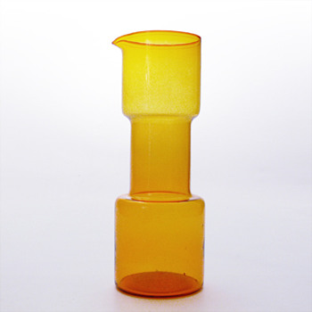 Yellow jug, Bo Borgström (Aseda, 1950s) - Art Glass