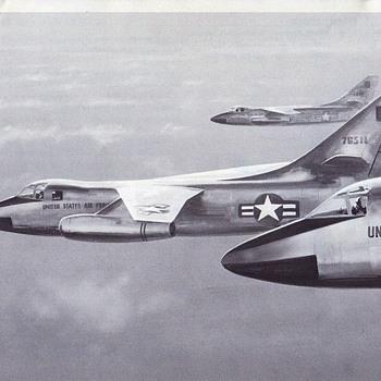 Douglas Aircraft Series A3D Skywarrior & B-66B Destroyer - Advertising