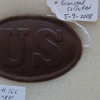 Civil War Plates from Important 2008 Collector's Auction - Military and Wartime