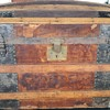 Beautiful garage sale find Vintage Steamer trunk
