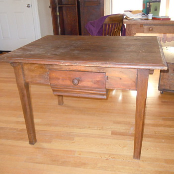 Does anyone know anything about my table? - Furniture