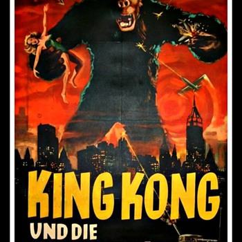 """KING KONG"" German Movie Poster 1941"