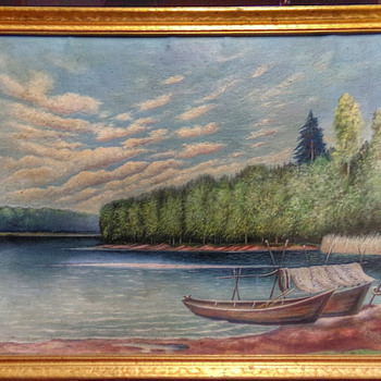 Local 1948 Oil Painting  - Fine Art