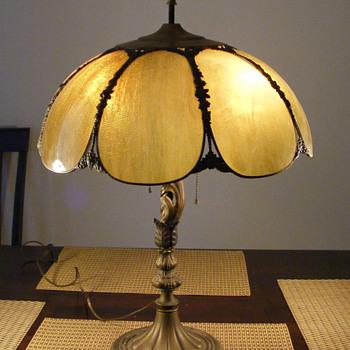 Art Nouveau Metal Table Lamp...ID? - Lamps