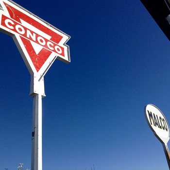 Another Conoco sign - Petroliana