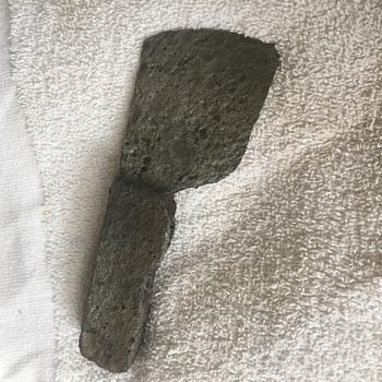Found small hatchet head. A bit rusty but very interesting.