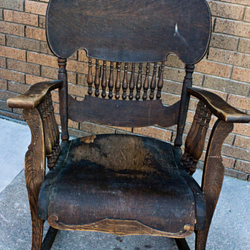 Antique Rocking Chair - Furniture