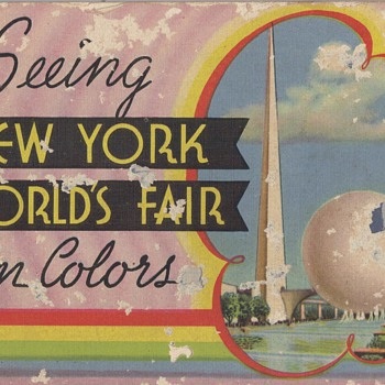 NEW YORK WORLD'S FAIR - Paper