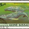 """1984 - Guinea-Bissau """"Whales"""" Postage Stamps"""