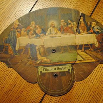 Last Supper Funeral Home Fan