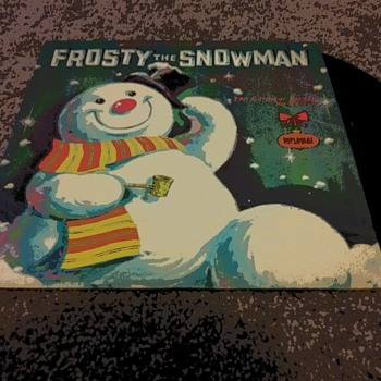 'Frosty The Snowman'....On 33 1/3 RPM Vinyl - Christmas